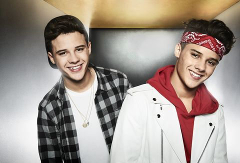 The X Factor Top 12 pose in brand new photos