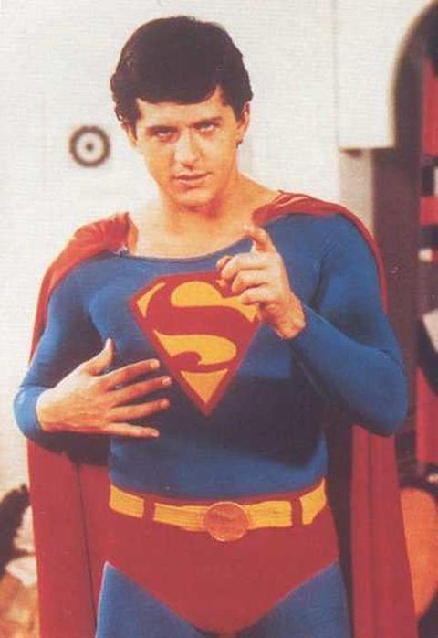 David Wilson as Superman in It's a Bird...It's a Plane...It's Superman