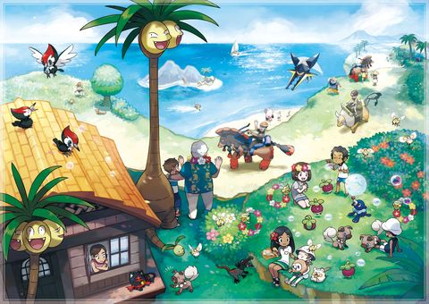 Pokémon Sun and Moon review: Fresh yet familiar in all the
