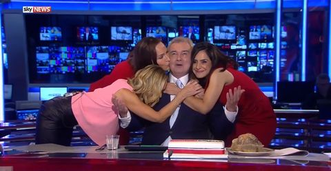 Eamonn Holmes is cut off on live TV as he says goodbye to Sky News