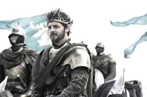 Renly Baratheon in Game of Thrones season 2