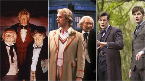 Doctor Who: The Three Doctors, The Five Doctors and The Day of the Doctor