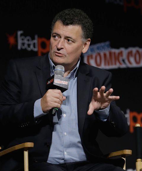 Doctor Who showrunner Steven Moffat at New York Comic Con