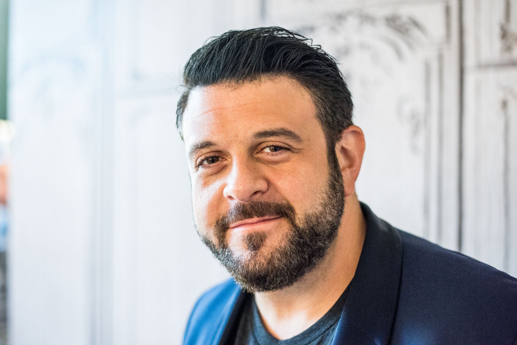 Adam Champ adam richman: 'food snobs don't like me or my shows - i'm