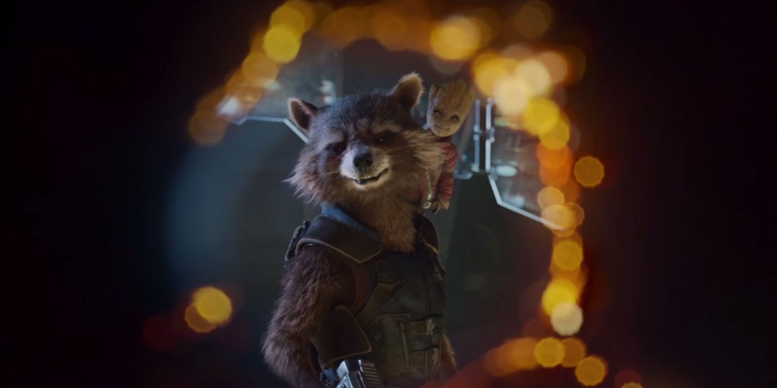 Guardians Of The Galaxy Vol. 2 Rocket and Groot