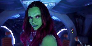 Guardians of the Galaxy 2 Zoe Saldana as Gamora