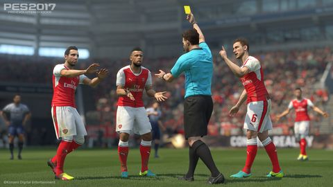PES 2017 updates: improved chants, bootyful faces, 4K