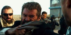 Wolverine Logan first trailer stab