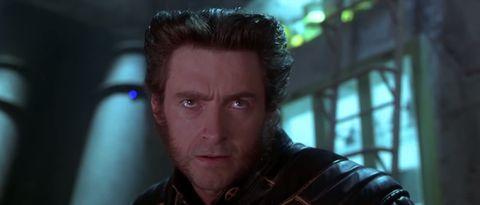 X-Men 2 Wolverine hair