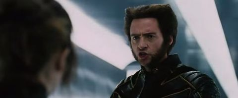 X-Men: The Last Stand Wolverine hair