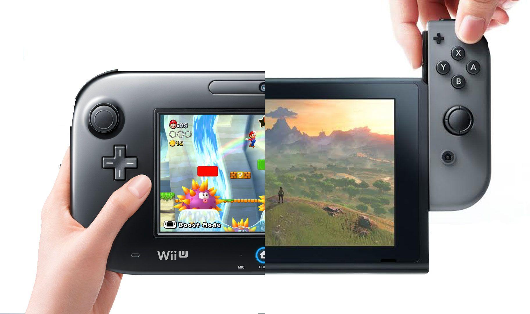 Nintendo switch pro controller vs wii u