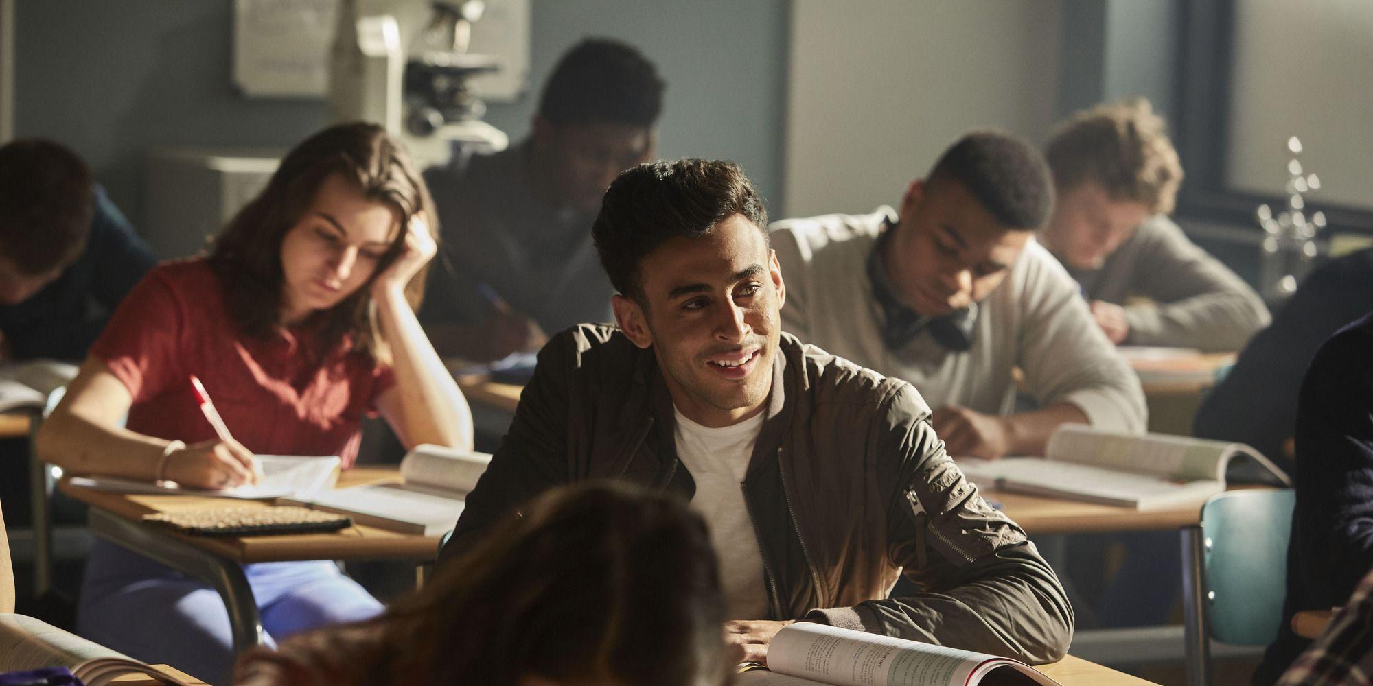 Fady Elsayed as Ram in BBC Three's Class