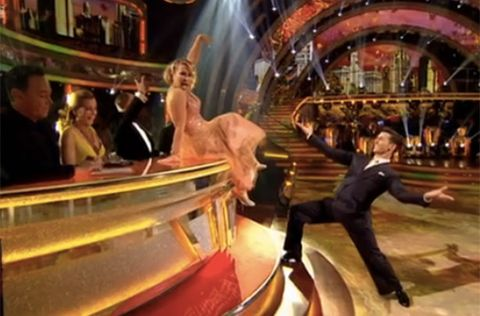Anastacia and Gorka Marquez Strictly Come Dancing week 5