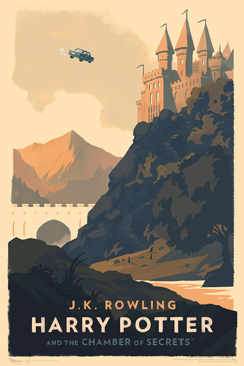 Olly Moss Harry Potter posters