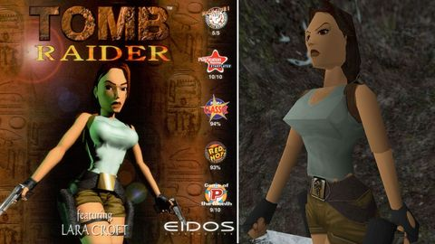 See How Lara Croft Has Changed Over 20 Years
