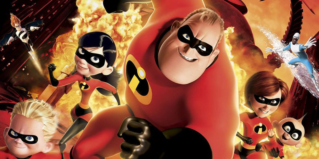 From the Disney and Pixar film, starring Mr. Incredible, Elastigirl, Frozone, Violet, Dash and Jack-Jack.