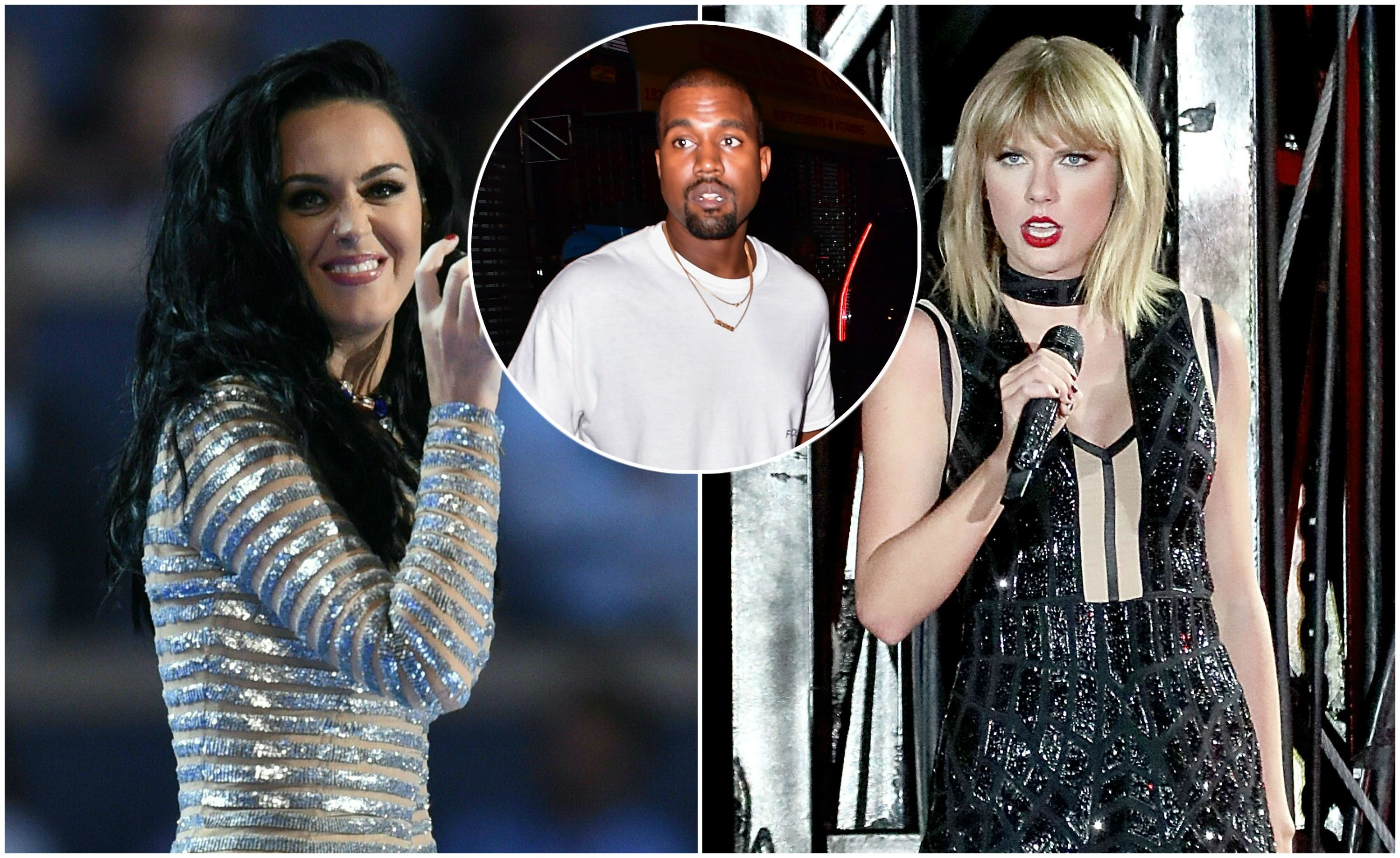 Katy Perry Takes Another Shot At Taylor Swift Courtesy Of Kanye West