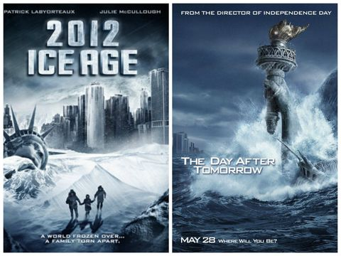 2012: Ice Age/ The Day After Tomorrow