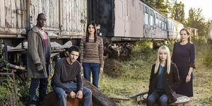 The cast of Humans series 2
