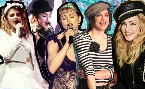 Madonna through the years