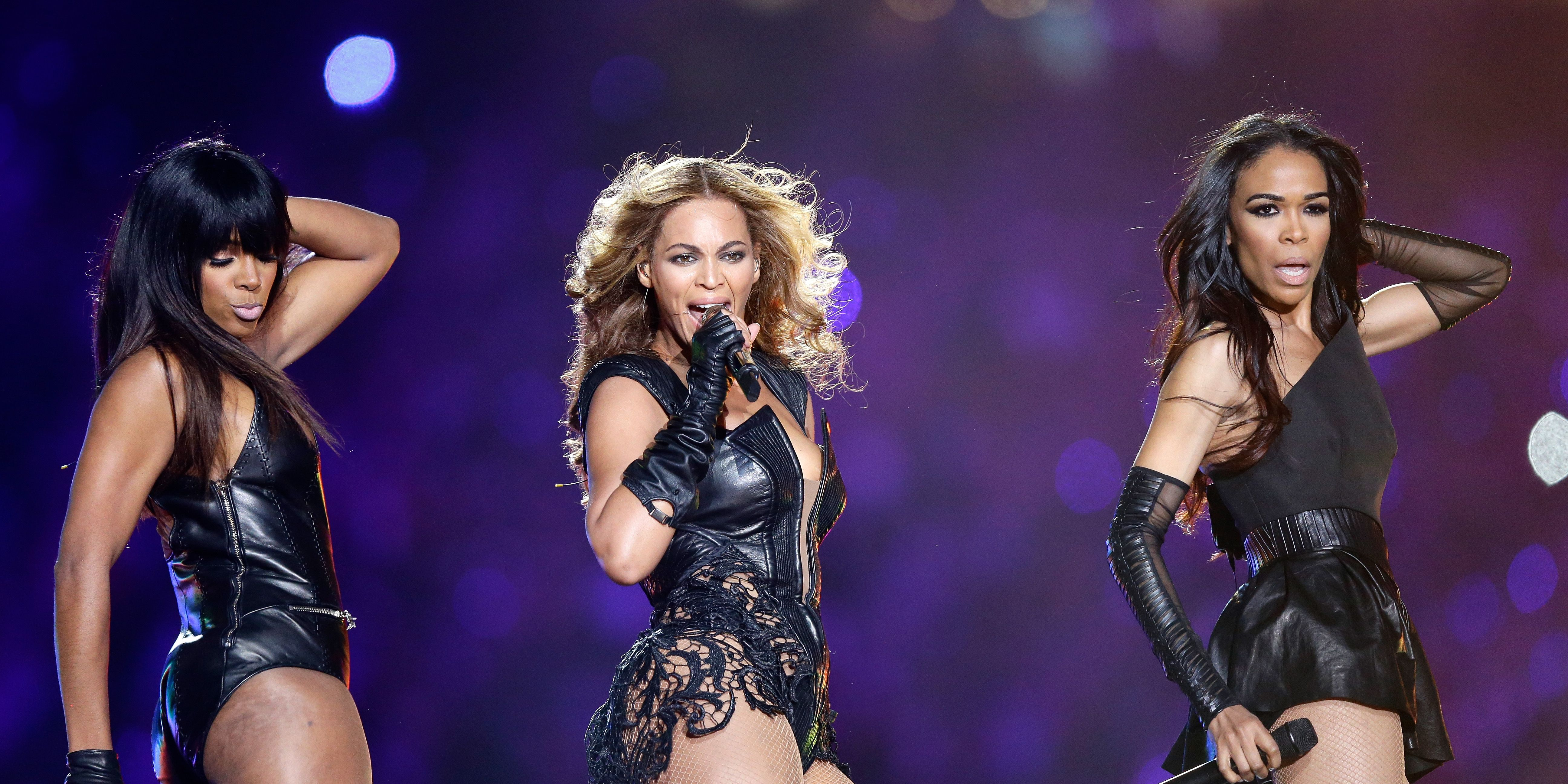 Destiny's Child at Super Bowl 2013