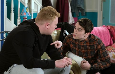 Craig is worried about Faye and Seb in Coronation Street