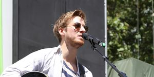 Arthur Darvill of Once performs at 106.7 LITE FM's Broadway in Bryant Park 2013