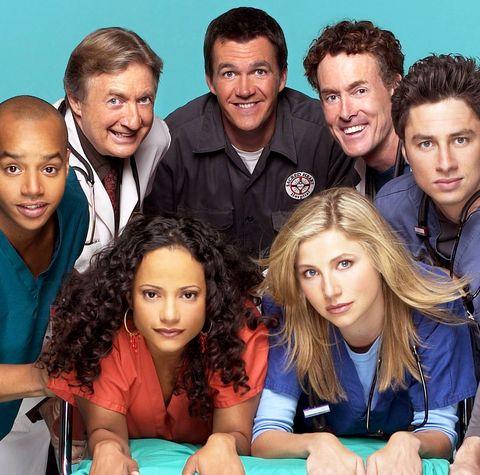 scrubs cast