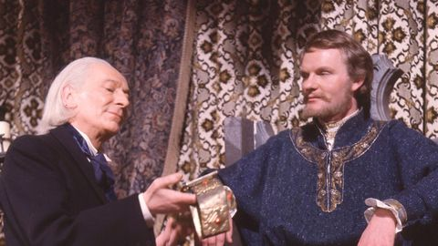 William Hartnell and Julian Glover in Doctor Who: The Crusade (1965)