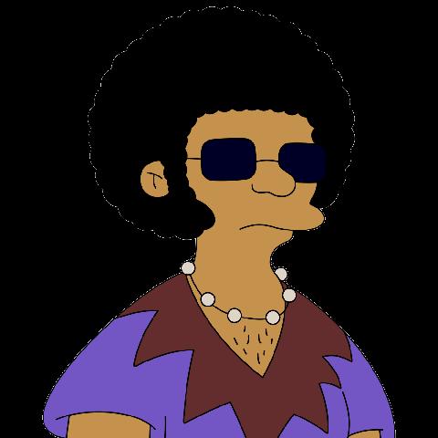 Sideshow Raheem in The Simpsons
