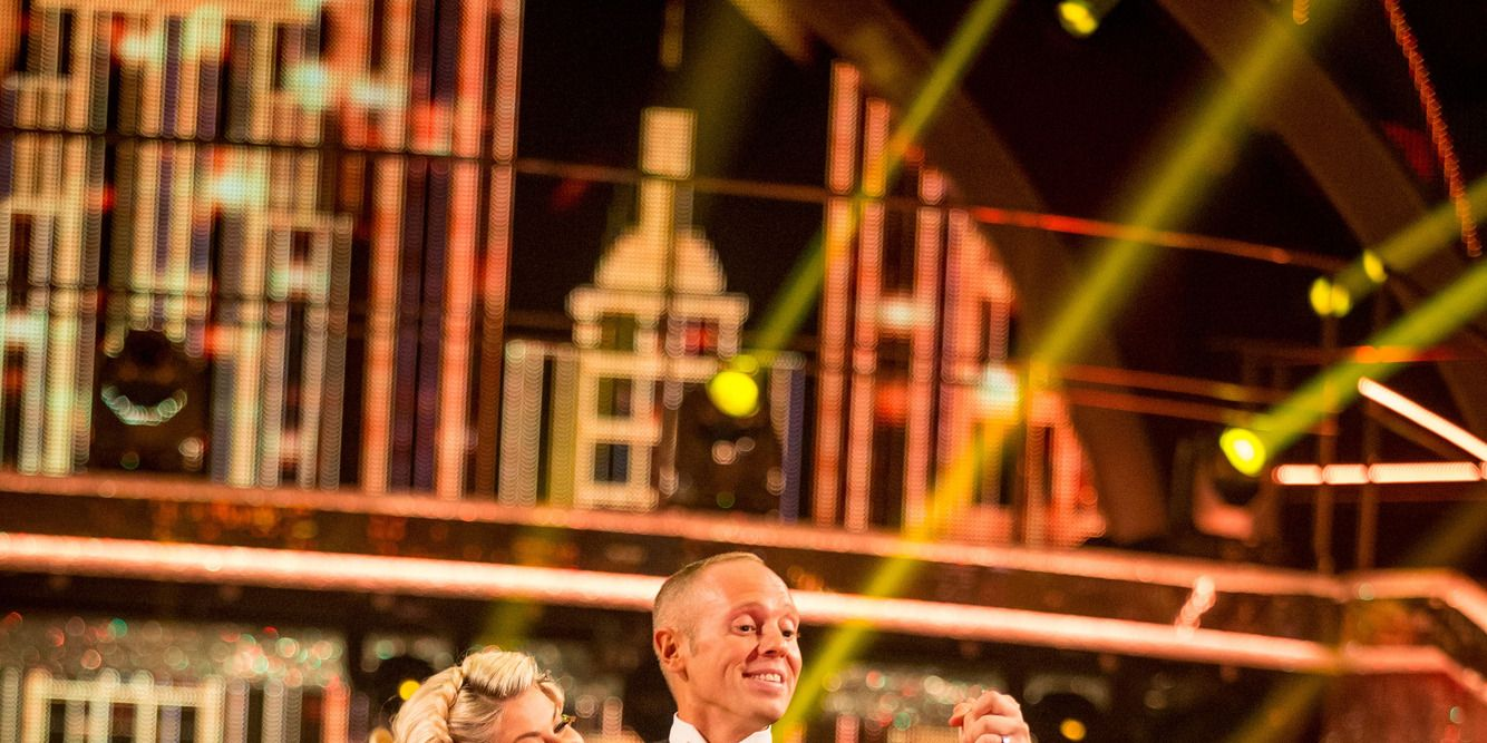 Judge Rinder and Oksana Platero on Strictly Come Dancing