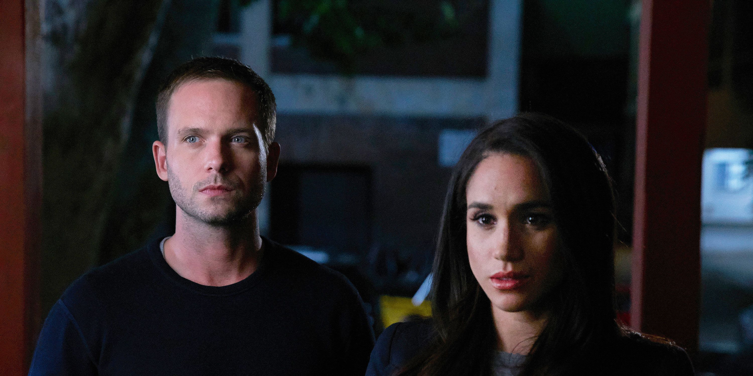 Suits, Meghan Markle as Rachel Zane, Patrick J. Adams as Michael Ross