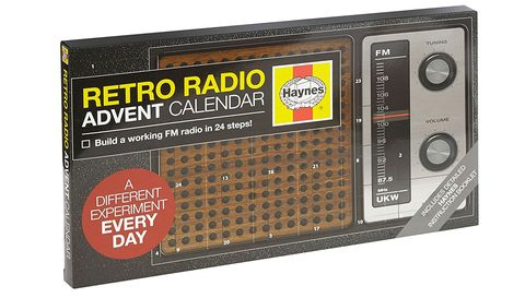 Haynes retro radio advent calendar