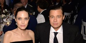 NEW YORK, NY - NOVEMBER 04: Angelina Jolie-Pitt and Brad Pitt attend the WSJ. Magazine 2015 Innovator Awards at the Museum of Modern Art on November 4, 2015 in New York City. (Photo by Kevin Mazur/Getty Images for WSJ. Magazine 2015 Innovator Awards)