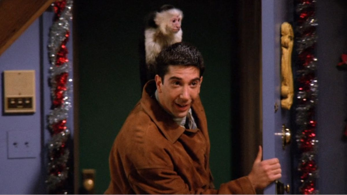 The Friends monkey is the star of a new Netflix murder mystery
