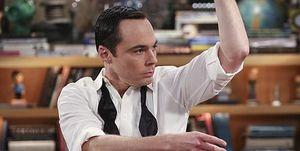 Jim Parsons as Sheldon in 'The Big Bang Theory'