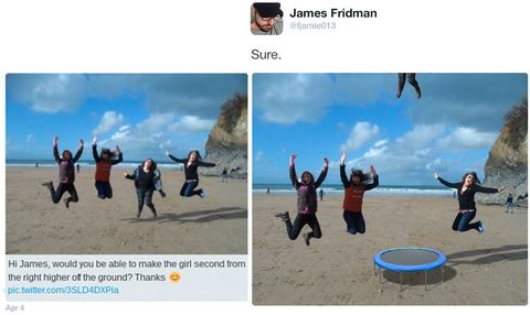 James Fridman funny photoshop