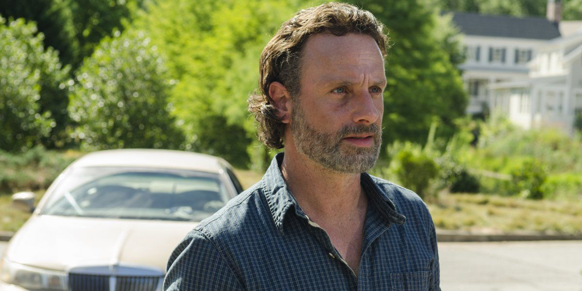Andrew Lincoln as Rick Grimes in 'The Walking Dead' s07e04, 'Service'