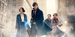 Fantastic Beasts and Where to Find Them poster cast crop