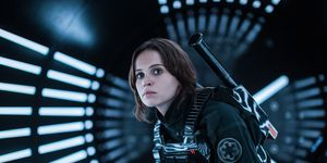 Star Wars, Rogue One, Felicity Jones as Jyn Erso