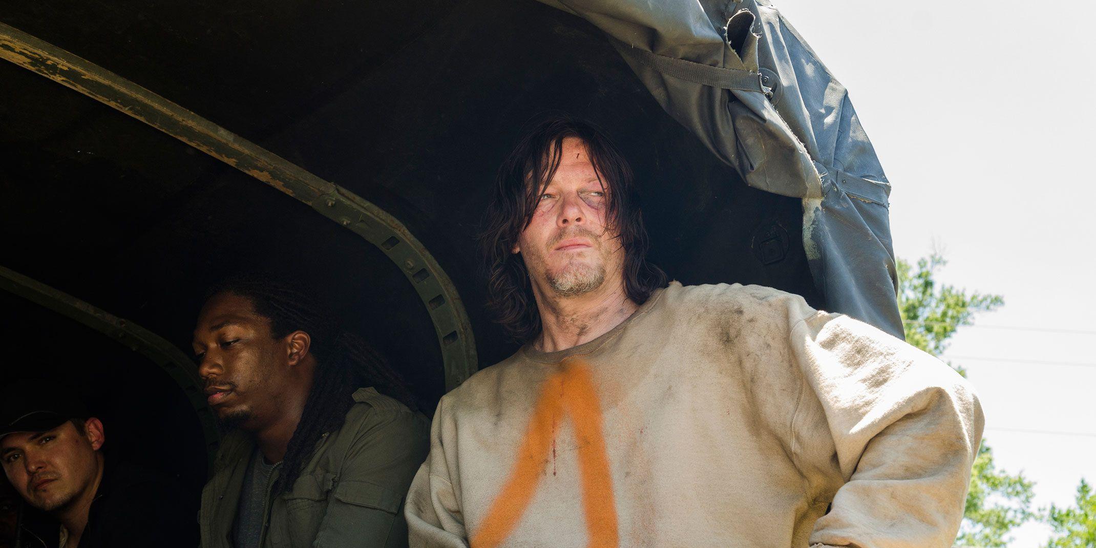 Daryl Dixon, the saviours prisoner The Walking Dead, Season 7