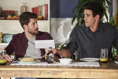 The Morgans discuss Raffy in Home and Away