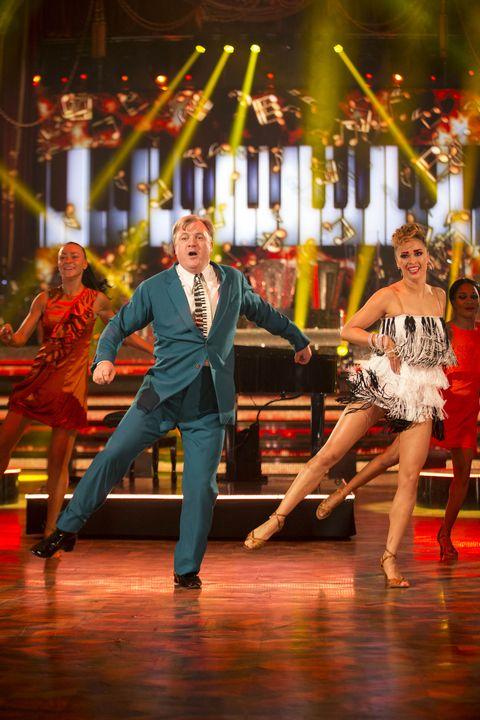 Ed Balls and Katya Jones on Strictly Blackpool Week