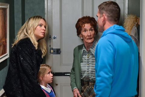 Roxy Mitchell is stunned when Jack Branning tells her they are selling Number 27 in EastEnders