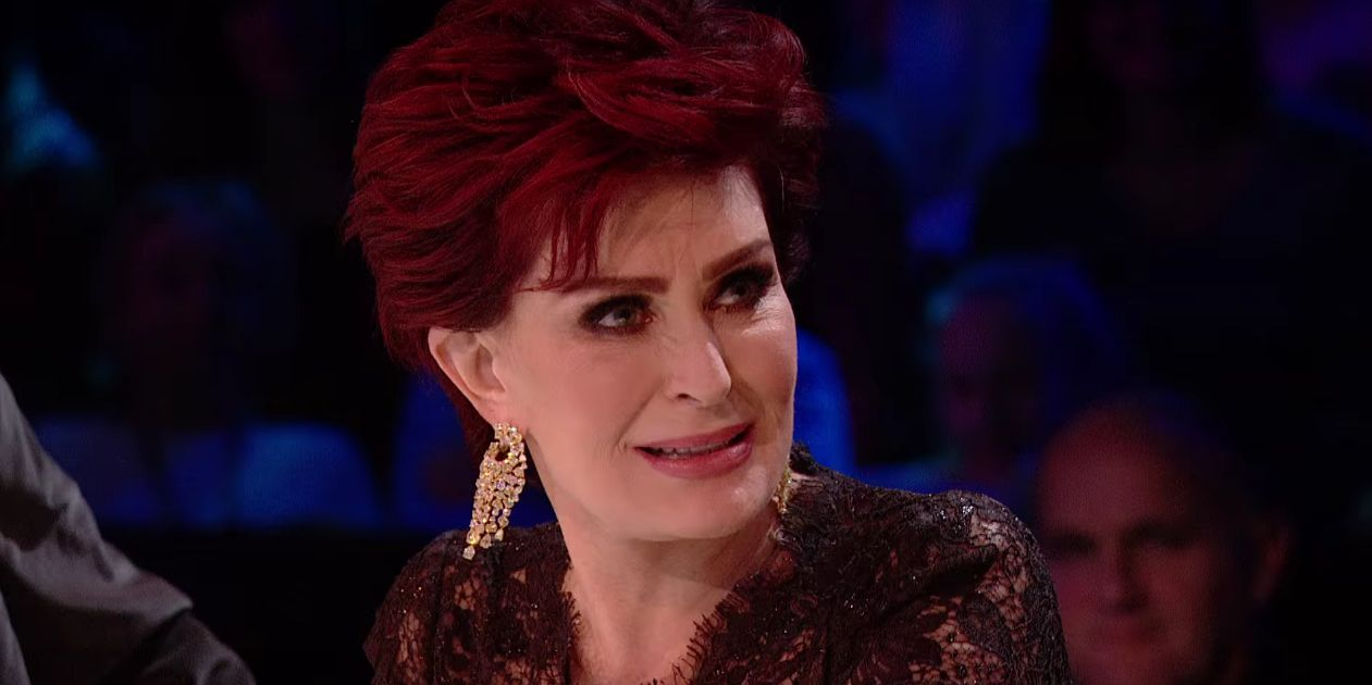 The X Factor Sharon Osbourne looking confused