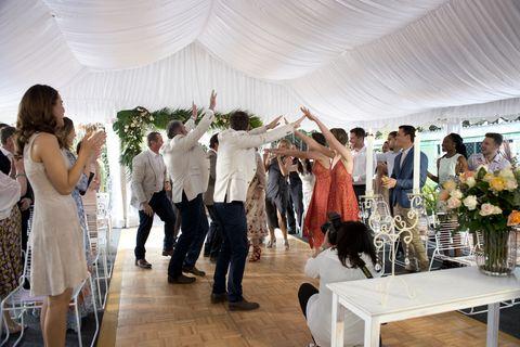Brad Willis and Lauren Turner's wedding in Neighbours