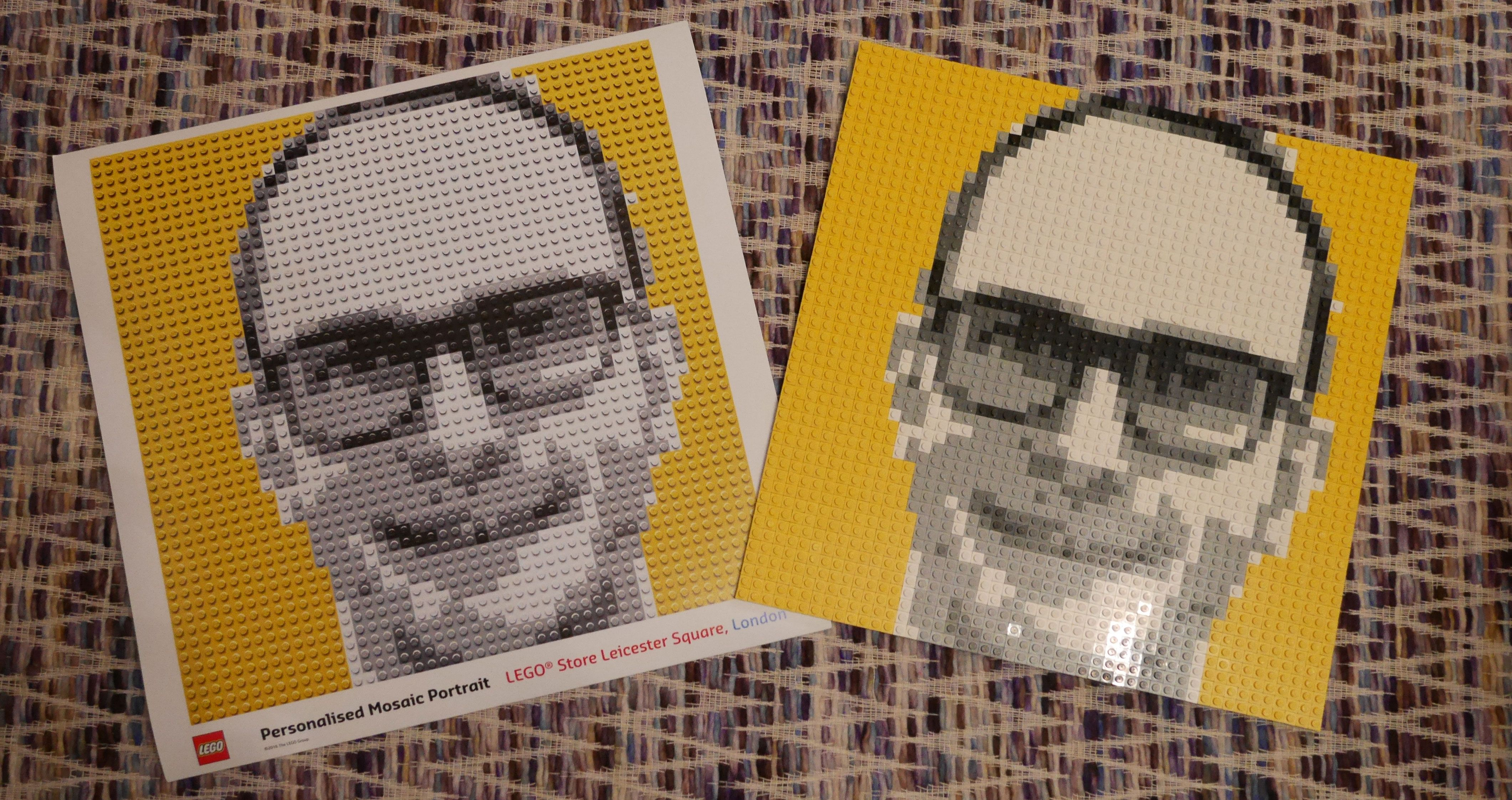 This Lego Booth Scans Your Face And Makes A Custom Kit So - #Summer
