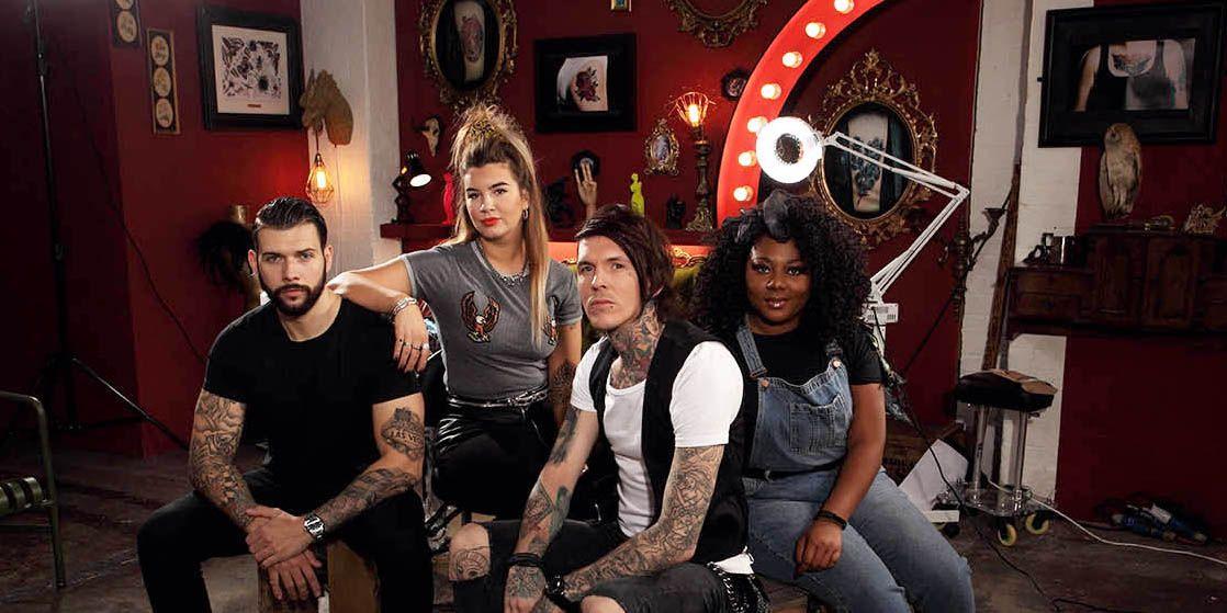 Tattoo Fixers: Jay Hutton, Alice Perrin, Sketch, Paisley Billings