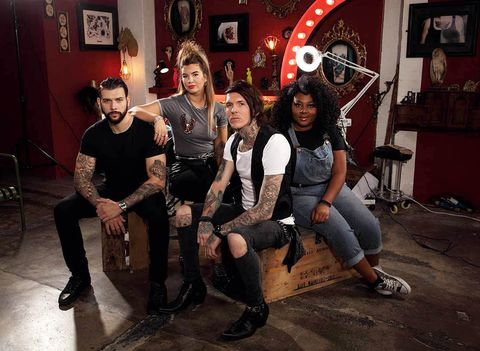 Tattoo Fixers Star Sketch Told Us All About Tattooing Willies And