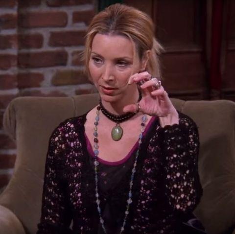 Phoebe (Lisa Kudrow) in 'Friends'